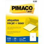 Etiqueta Ink-Jet Carta c/ 100 Folhas Pimaco