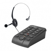 Telefone Headset c/ Base INTELBRAS