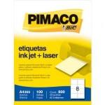 Etiqueta Ink-Jet A4 c/100 Folhas Pimaco