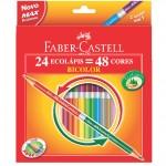 Lápis de Cor Bicolor Faber-Castell