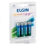 Pilha Alcalina AAA Elgin