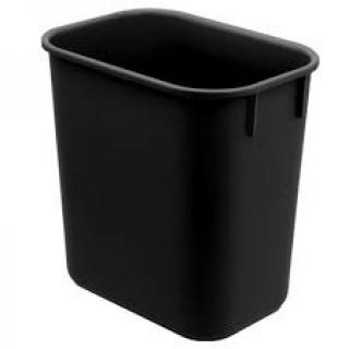 Cesto de Lixo Preto 12.5 Litros Dello