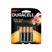 Pilha Alcalina AAA Duracell